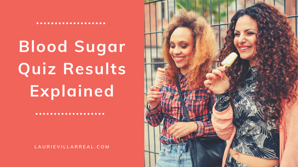 Blood sugar quiz results explained